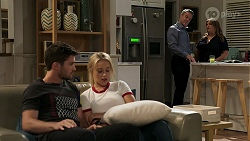 Ned Willis, Roxy Willis, Paul Robinson, Terese Willis in Neighbours Episode 8288