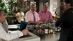 Paul Robinson, Toadie Rebecchi, Karl Kennedy, Shane Rebecchi in Neighbours Episode 8288