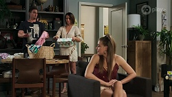 Kyle Canning, Elly Conway, Chloe Brennan in Neighbours Episode 8291