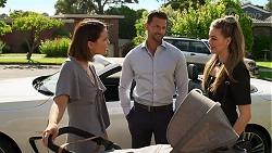 Elly Conway, Pierce Greyson, Chloe Brennan in Neighbours Episode 8292