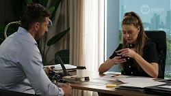 Pierce Greyson, Chloe Brennan in Neighbours Episode 8292