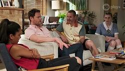 Yashvi Rebecchi, Shane Rebecchi, Toadie Rebecchi in Neighbours Episode 8292