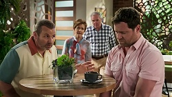 Toadie Rebecchi, Susan Kennedy, Karl Kennedy, Shane Rebecchi in Neighbours Episode 8293