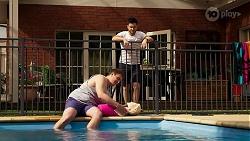 Kyle Canning, David Tanaka in Neighbours Episode 8293