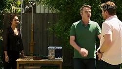 Dipi Rebecchi, Gary Canning, Shane Rebecchi in Neighbours Episode 8293
