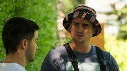 David Tanaka, Kyle Canning in Neighbours Episode 8293