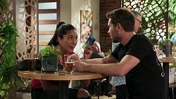 Yashvi Rebecchi, Ned Willis in Neighbours Episode 8294