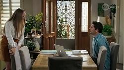 Harlow Robinson, Finn Kelly in Neighbours Episode 8294
