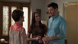 Susan Kennedy, Bea Nilsson, Finn Kelly in Neighbours Episode 8294