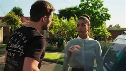 Ned Willis, Yashvi Rebecchi in Neighbours Episode 8296