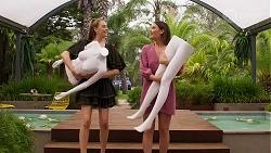Chloe Brennan, Elly Conway in Neighbours Episode 8296
