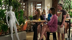 Chloe Brennan, Elly Conway, Kyle Canning in Neighbours Episode 8296