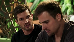 Ned Willis, Kyle Canning in Neighbours Episode 8296