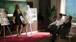 Chloe Brennan, Pierce Greyson, Paul Robinson in Neighbours Episode 8296