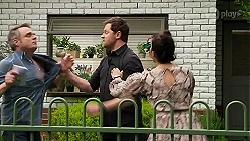Gary Canning, Shane Rebecchi, Dipi Rebecchi in Neighbours Episode 8298