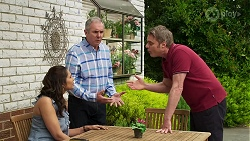 Dipi Rebecchi, Karl Kennedy, Gary Canning in Neighbours Episode 8298