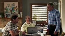 Shane Rebecchi, Toadie Rebecchi, Karl Kennedy in Neighbours Episode 8298