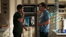 Ned Willis, Kyle Canning in Neighbours Episode 8300
