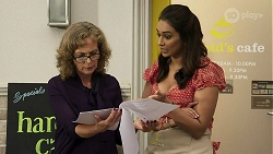 Jane Harris, Dipi Rebecchi in Neighbours Episode 8300