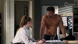 Chloe Brennan, Pierce Greyson in Neighbours Episode 8301