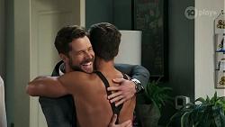 Mark Brennan, Aaron Brennan in Neighbours Episode 8301