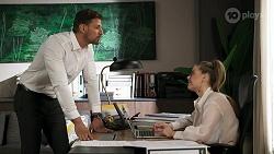 Pierce Greyson, Chloe Brennan in Neighbours Episode 8301