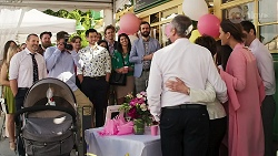 Toadie Rebecchi, Kyle Canning, David Tanaka, Karl Kennedy, Susan Kennedy, Elly Conway, Finn Kelly in Neighbours Episode 8303