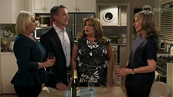 Lucy Robinson, Paul Robinson, Terese Willis, Jane Harris in Neighbours Episode 8303