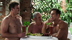 Kyle Canning, Karl Kennedy, Aaron Brennan in Neighbours Episode 8304