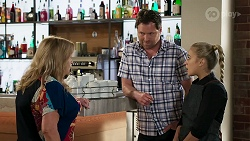 Sheila Canning, Shane Rebecchi, Roxy Willis in Neighbours Episode 8304