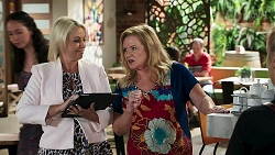 Lucy Robinson, Sheila Canning in Neighbours Episode 8304