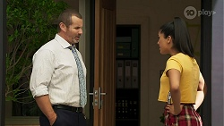 Toadie Rebecchi, Yashvi Rebecchi in Neighbours Episode 8306
