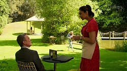 Paul Robinson, Dipi Rebecchi in Neighbours Episode 8306