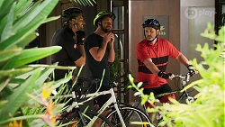 Pierce Greyson, Mark Brennan, Toadie Rebecchi in Neighbours Episode 8306