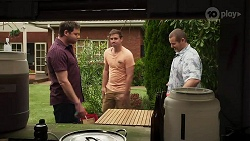 Shane Rebecchi, Kyle Canning, Toadie Rebecchi in Neighbours Episode 8307