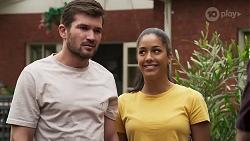 Ned Willis, Yashvi Rebecchi in Neighbours Episode 8307