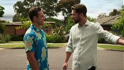 Aaron Brennan, Mark Brennan in Neighbours Episode 8307