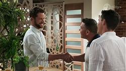 Mark Brennan, Mark Gottlieb, Jack Callahan in Neighbours Episode 8307