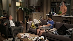 Paul Robinson, David Tanaka, Kyle Canning in Neighbours Episode 8308