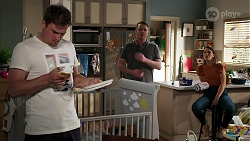 Kyle Canning, Gary Canning, Elly Conway in Neighbours Episode 8308