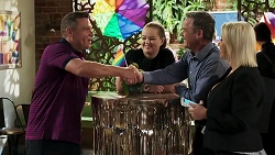 Mark Gottlieb, Harlow Robinson, Paul Robinson, Lucy Robinson in Neighbours Episode 8308