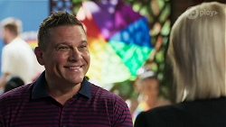Mark Brennan, Lucy Robinson in Neighbours Episode 8308