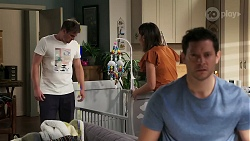 Kyle Canning, Elly Conway, Finn Kelly in Neighbours Episode 8309