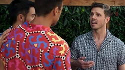 David Tanaka, Aaron Brennan, Jake Shears in Neighbours Episode 8309