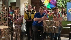 Susan Kennedy, Aster Conway, Karl Kennedy, Gary Canning, Kyle Canning in Neighbours Episode 8309