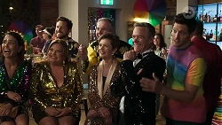 Elly Conway, Terese Willis, Mark Brennan, Karl Kennedy, Susan Kennedy, Paul Robinson, Finn Kelly in Neighbours Episode 8309