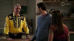 Karl Kennedy, Finn Kelly, Bea Nilsson in Neighbours Episode 8310