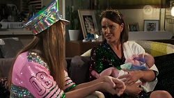 Chloe Brennan, Elly Conway, Aster Conway in Neighbours Episode 8310