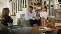 Terese Willis, Pierce Greyson, Chloe Brennan in Neighbours Episode 8310