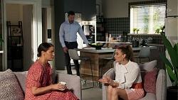 Elly Conway, Pierce Greyson, Chloe Brennan in Neighbours Episode 8310